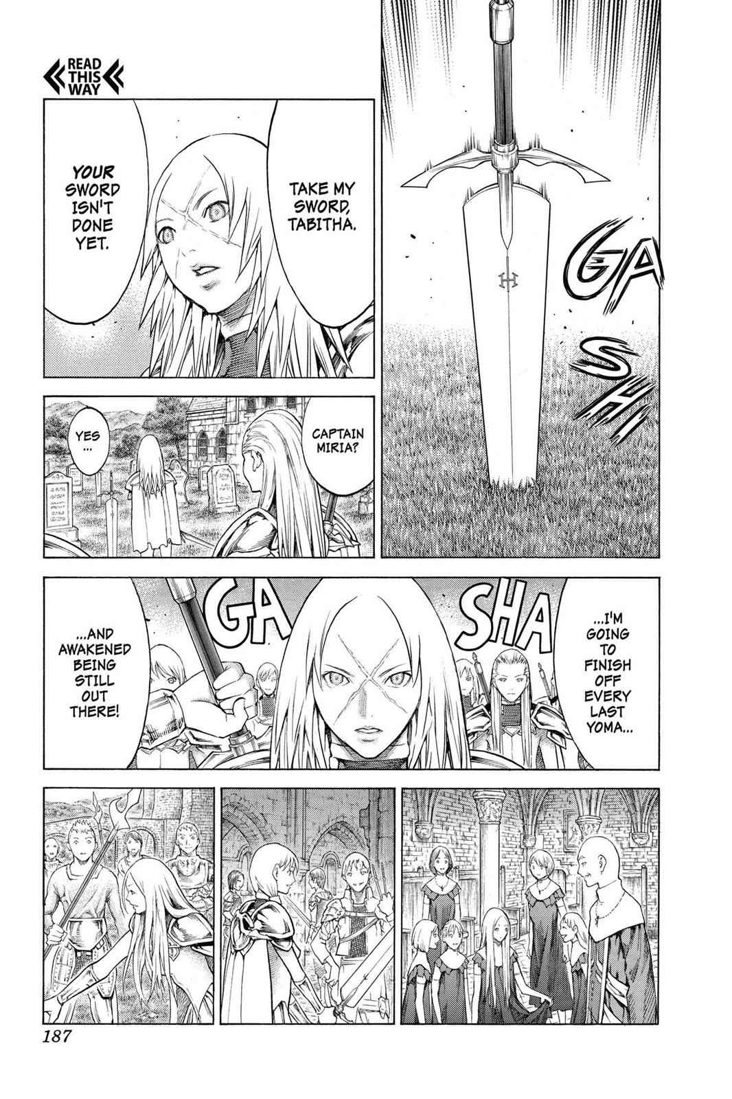 Claymore Chapter 155 Page 23