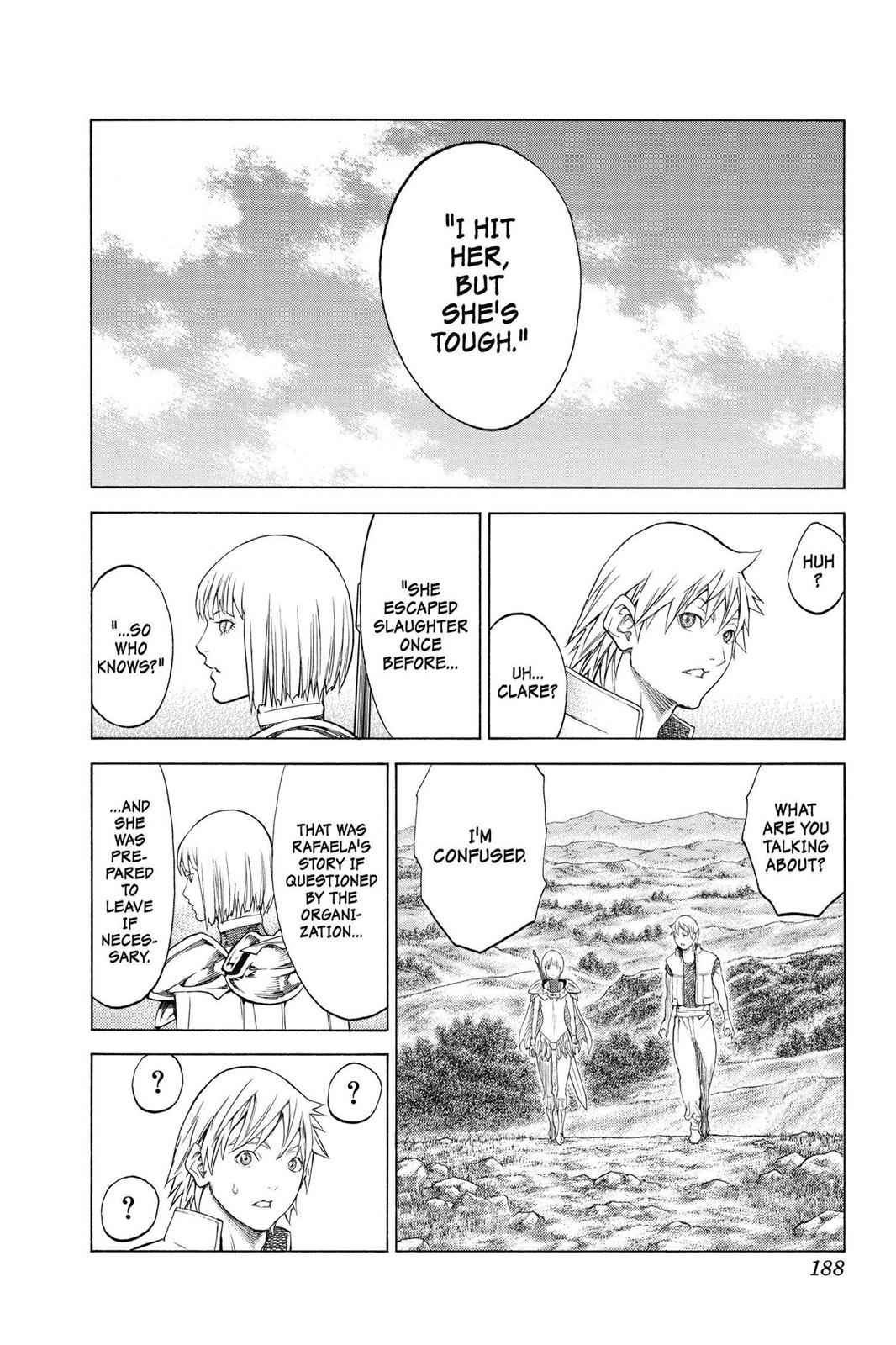Claymore Chapter 155 Page 24