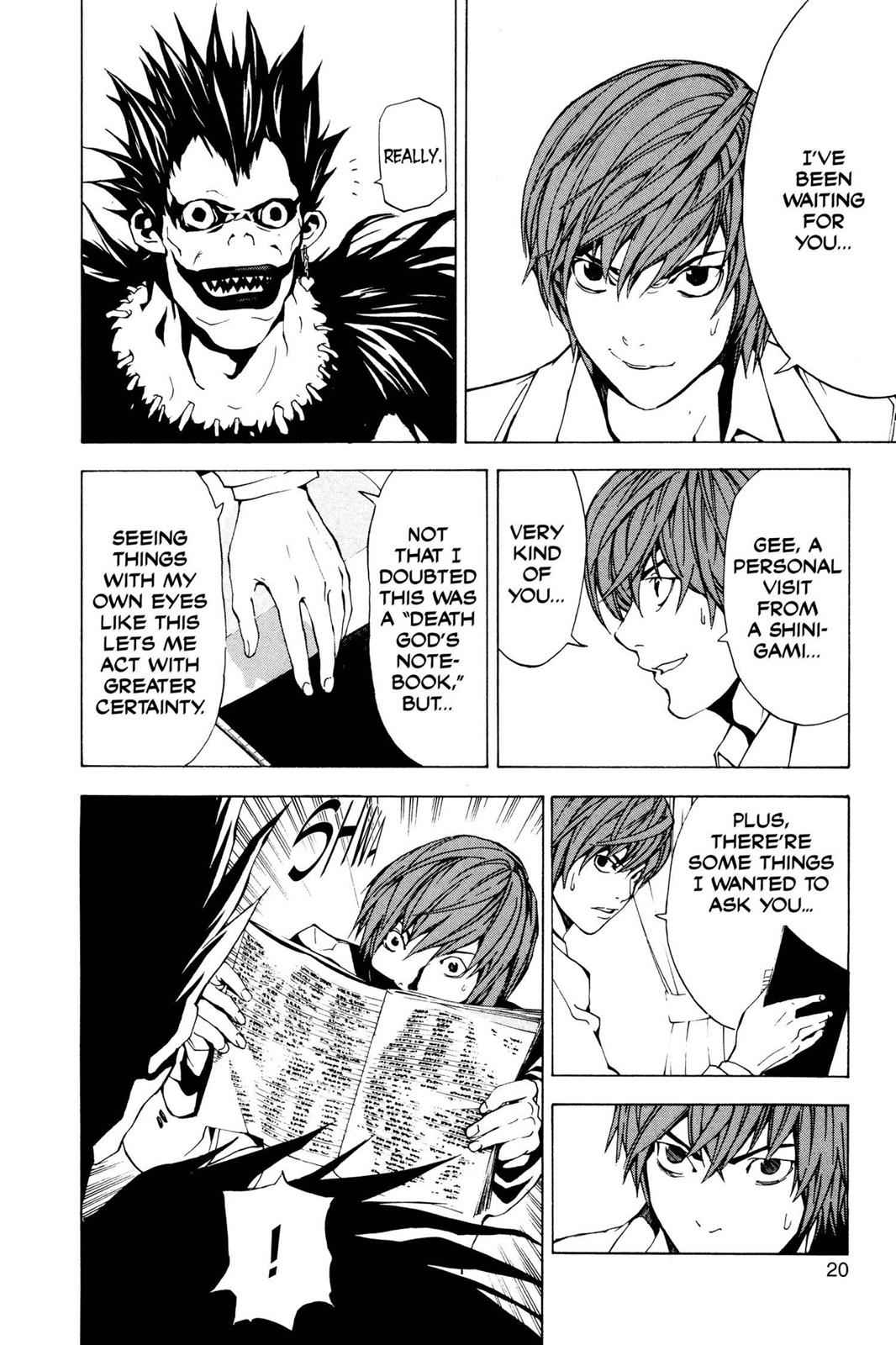 Death Note Chapter 1 Page 21