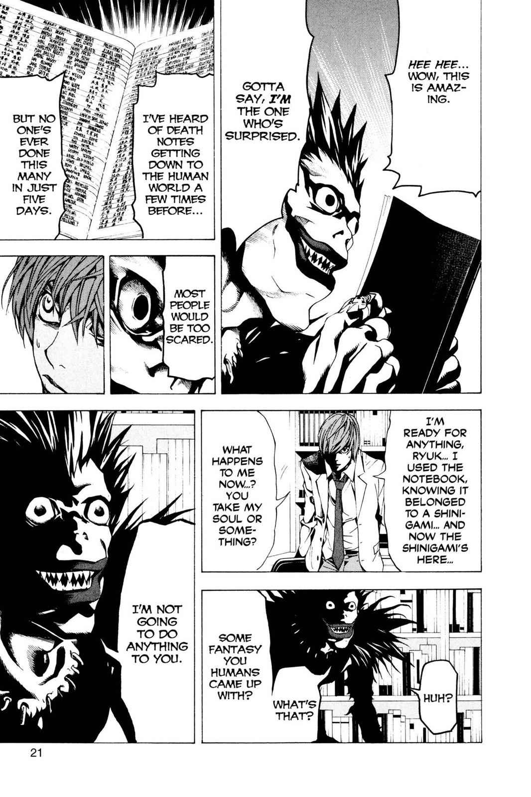 Death Note Chapter 1 Page 22