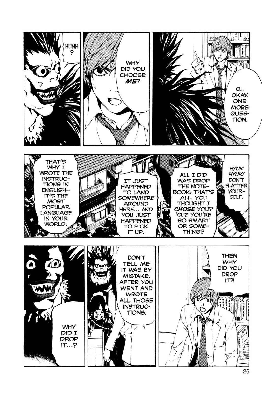Death Note Chapter 1 Page 27