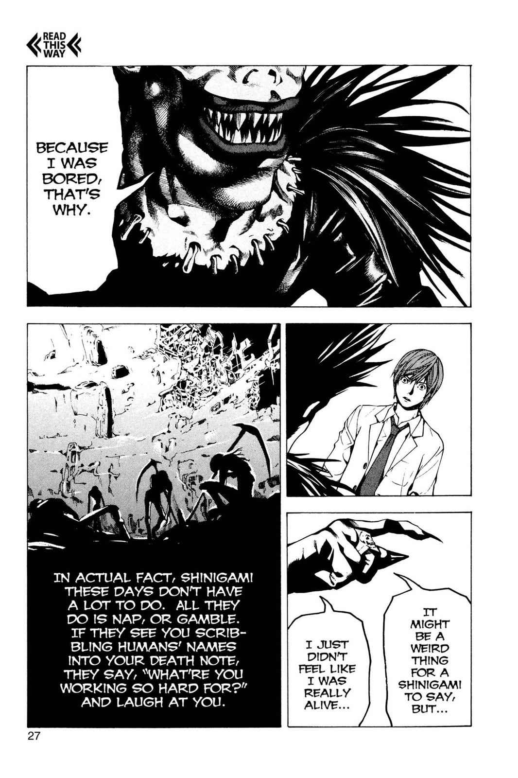 Death Note Chapter 1 Page 28