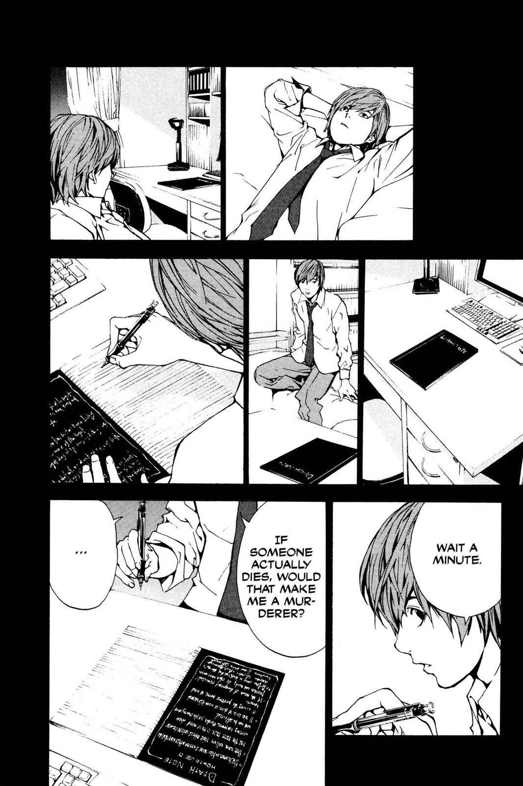 Death Note Chapter 1 Page 31