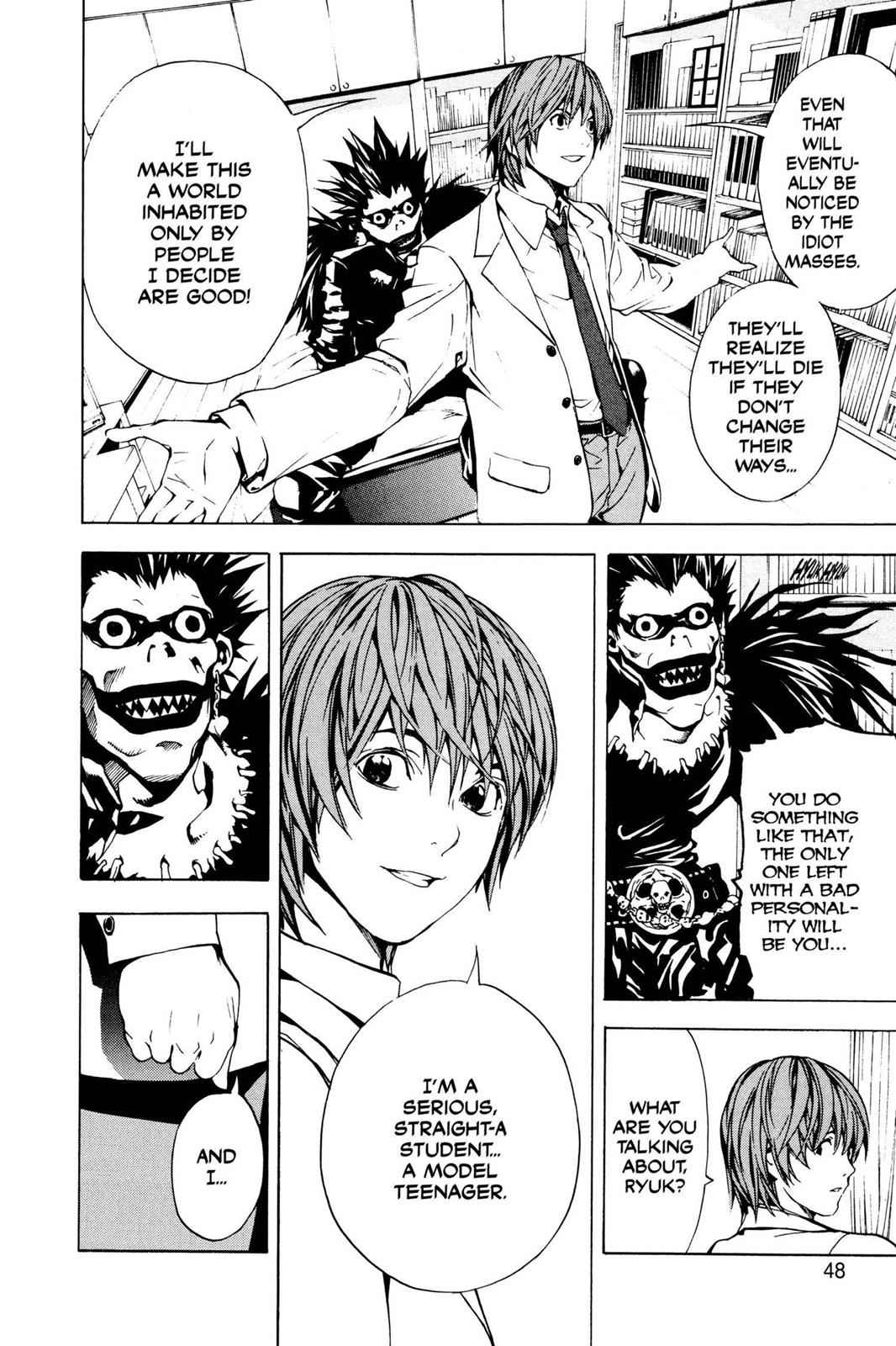 Death Note Chapter 1 Page 49