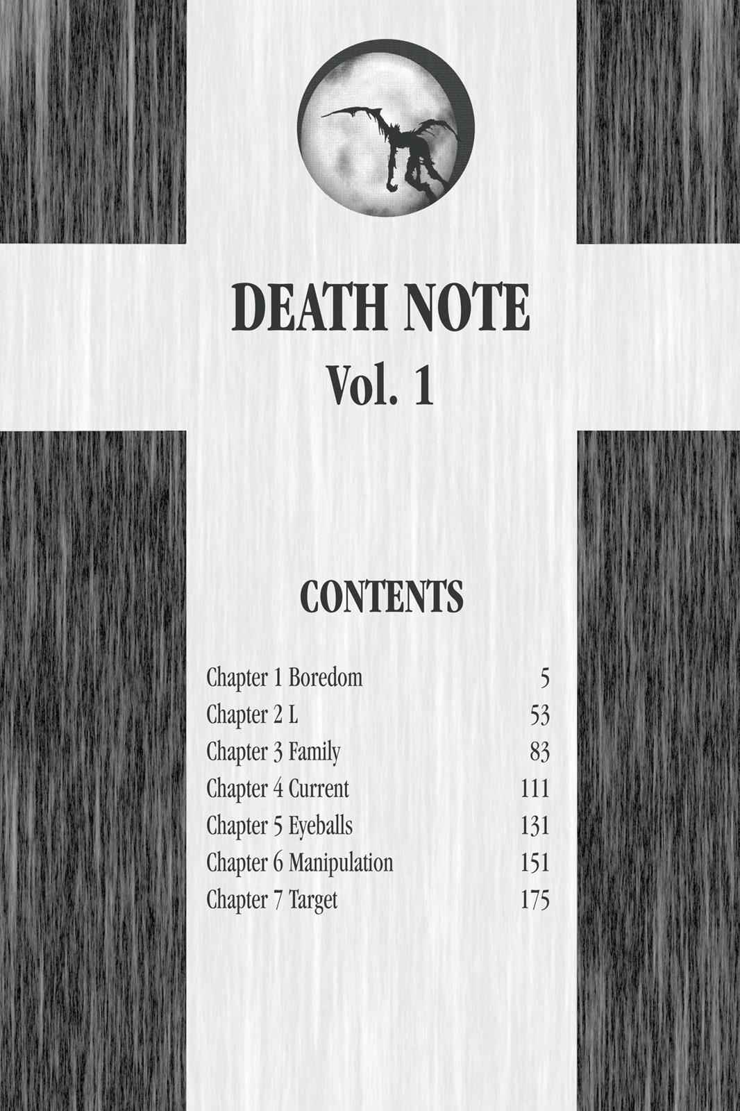 Death Note Chapter 1 Page 5