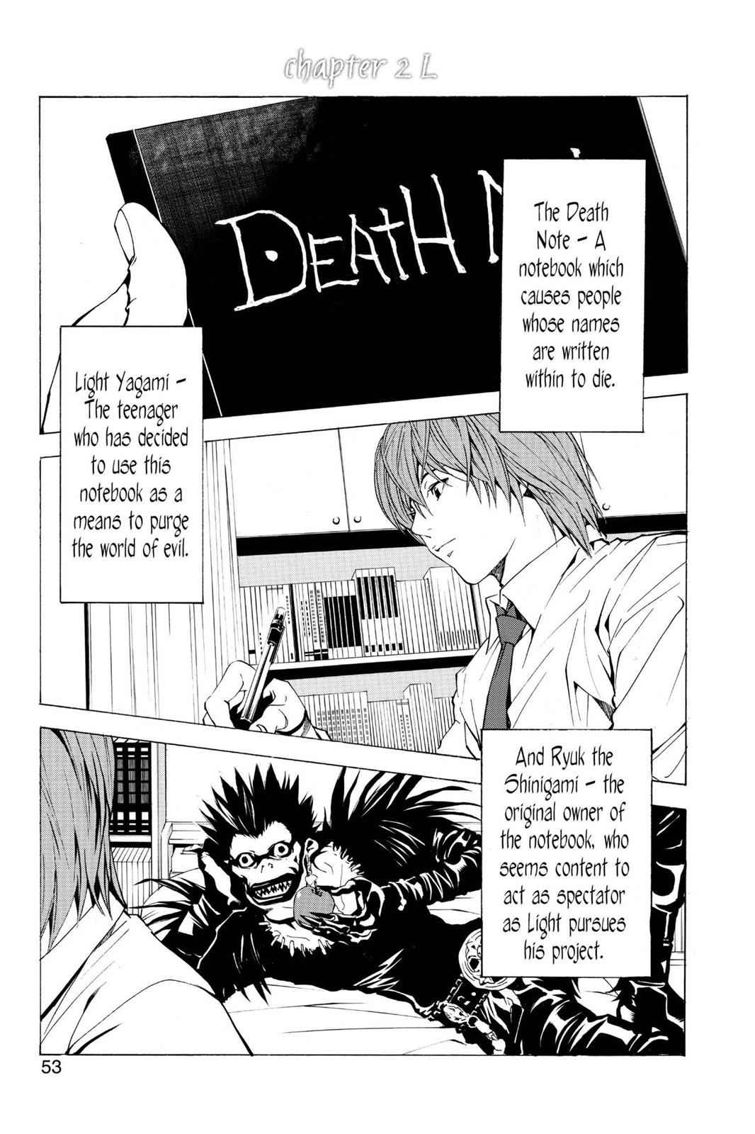 Death Note Chapter 2 Page 1