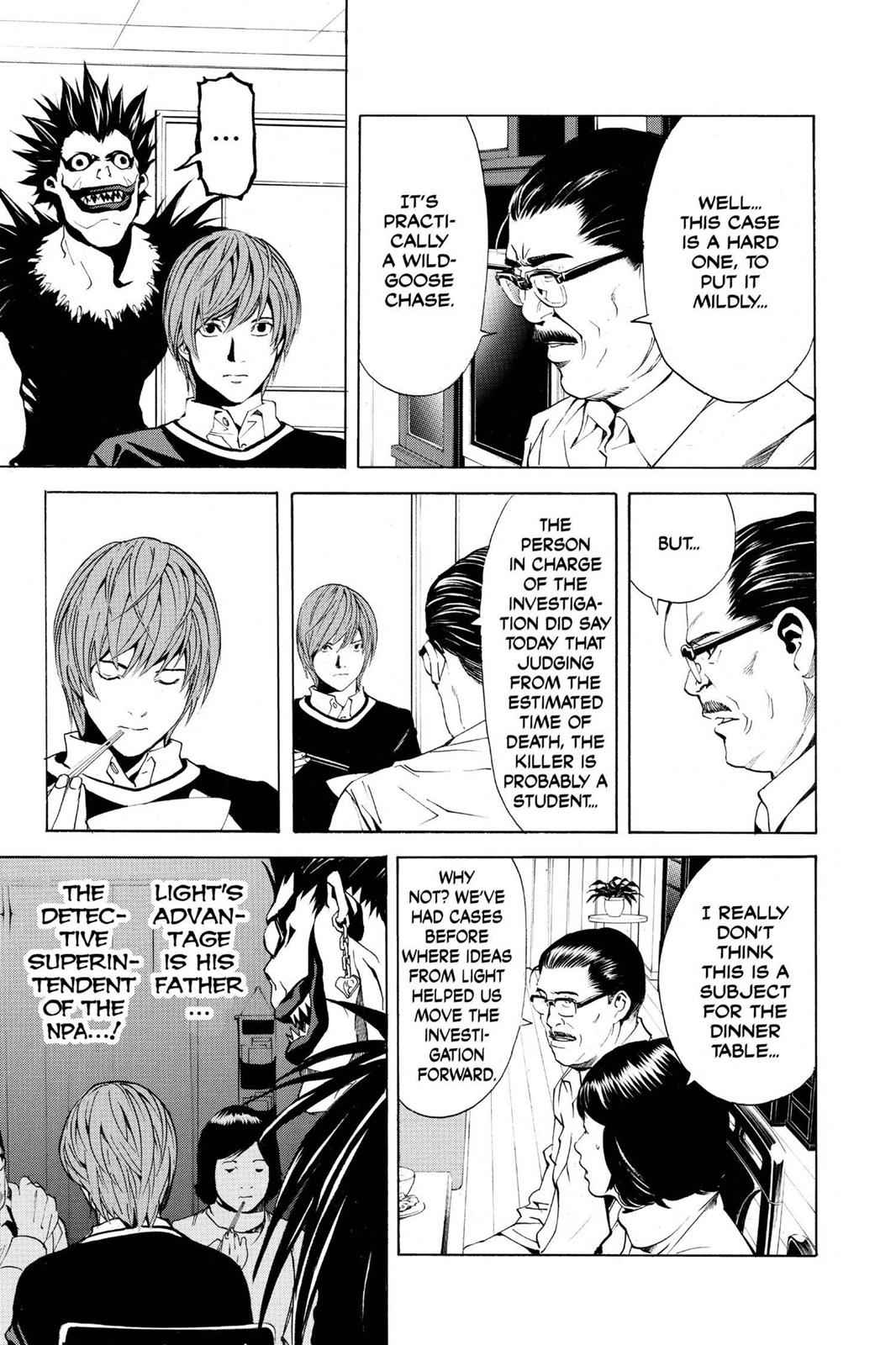 Death Note Chapter 3 Page 21