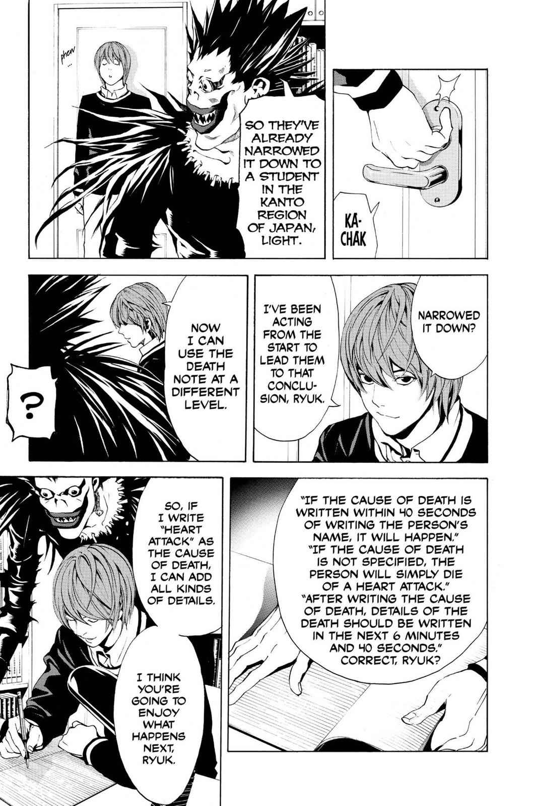 Death Note Chapter 3 Page 23