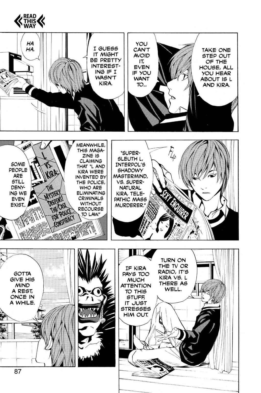 Death Note Chapter 3 Page 5