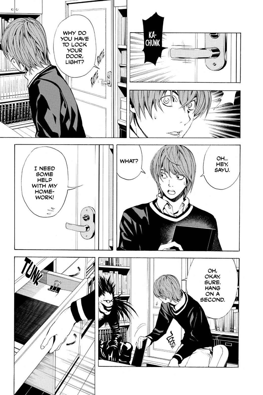 Death Note Chapter 3 Page 7