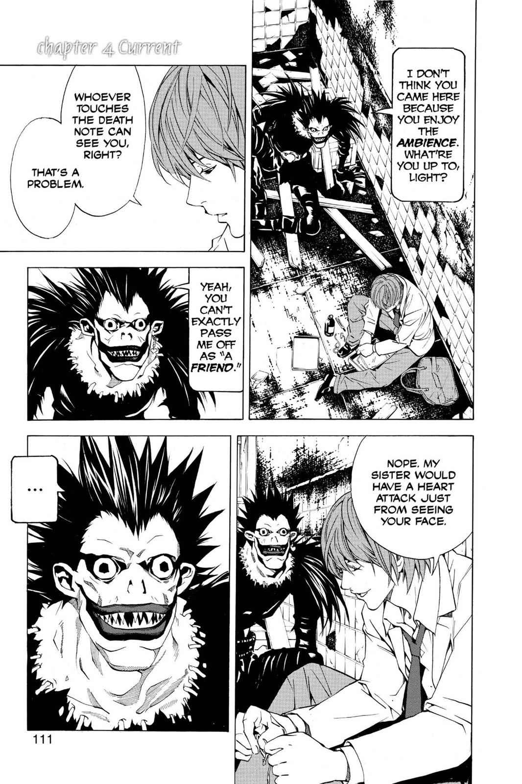 Death Note Chapter 4 Page 1