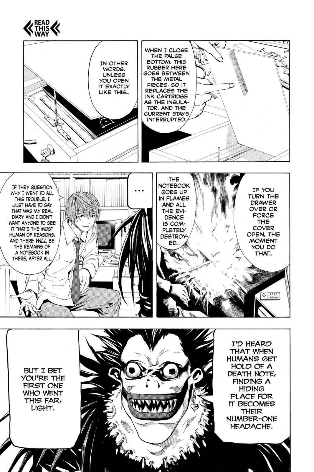 Death Note Chapter 4 Page 17