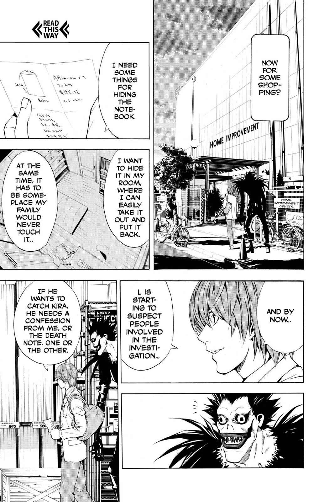 Death Note Chapter 4 Page 5