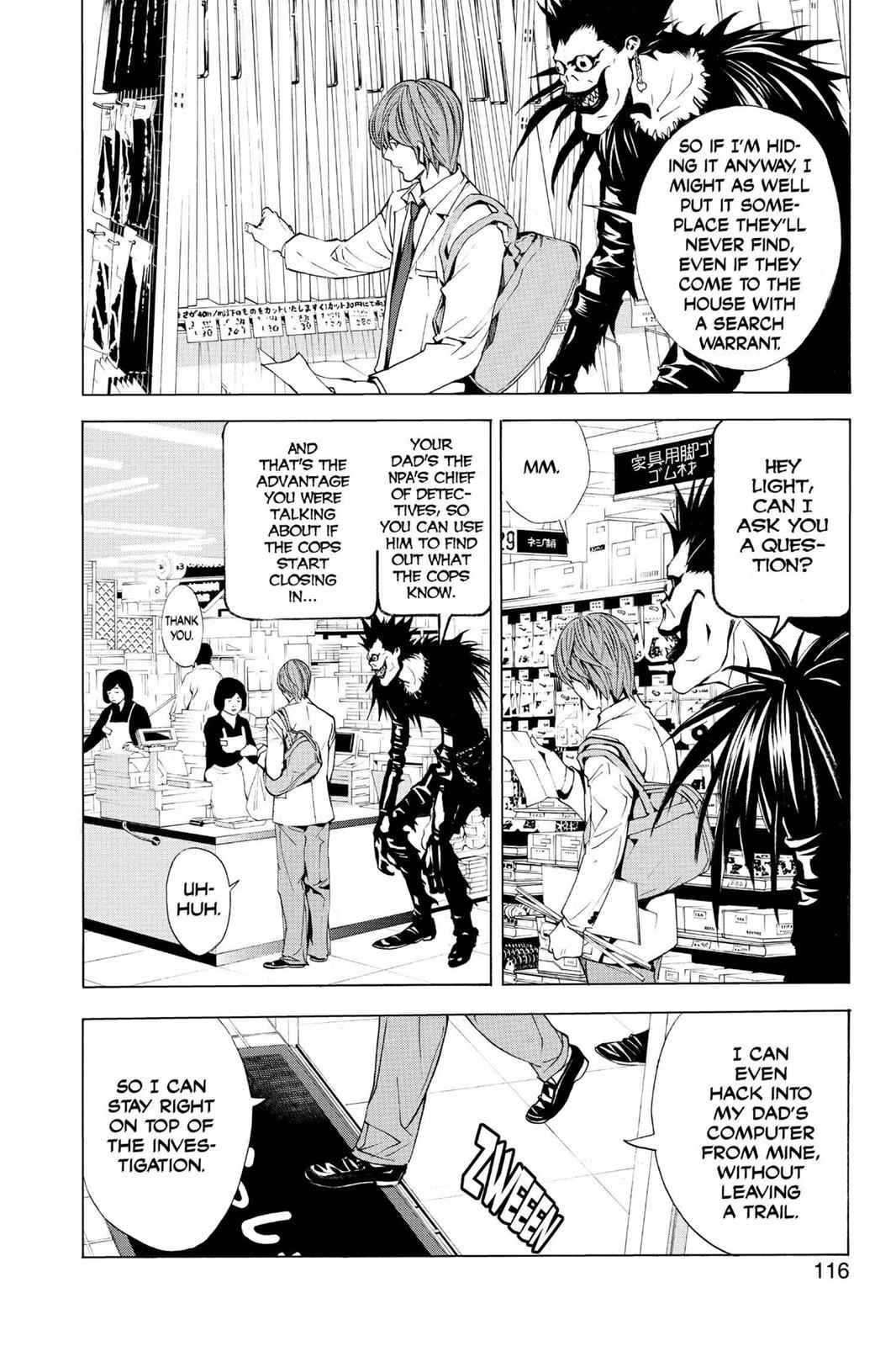 Death Note Chapter 4 Page 6