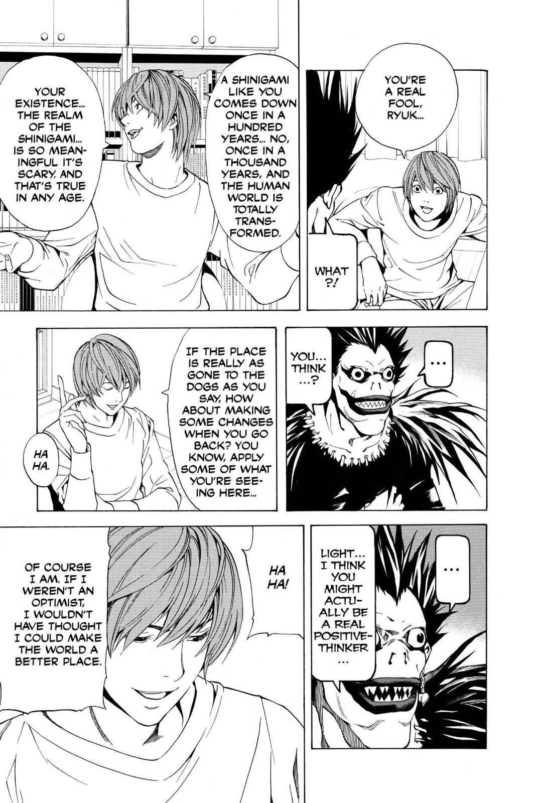 Death Note Chapter 5 Page 13