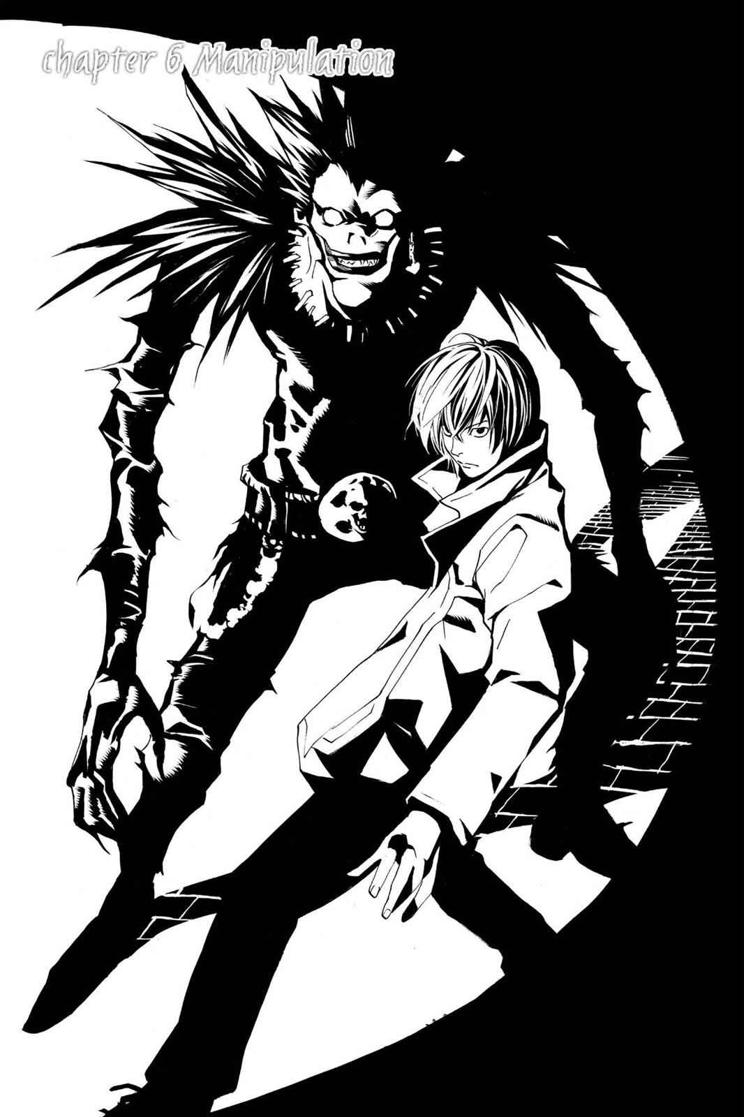 Death Note Chapter 6 Page 1