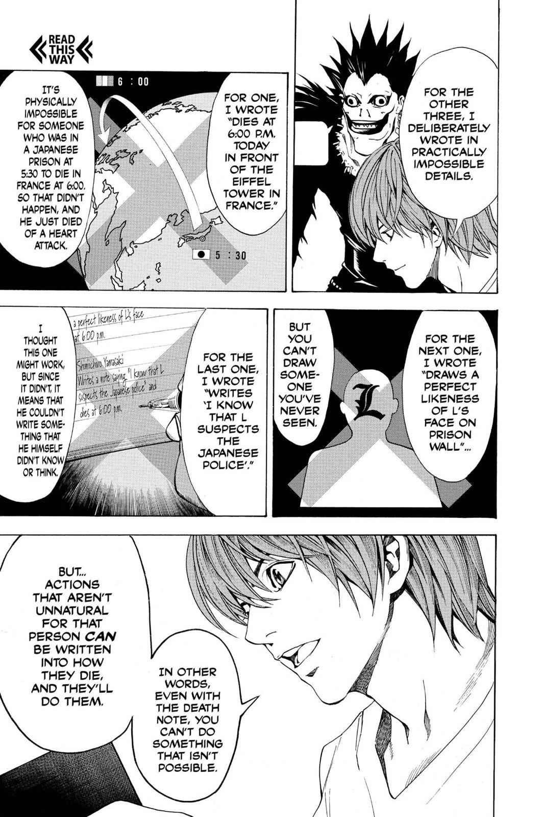 Death Note Chapter 6 Page 17
