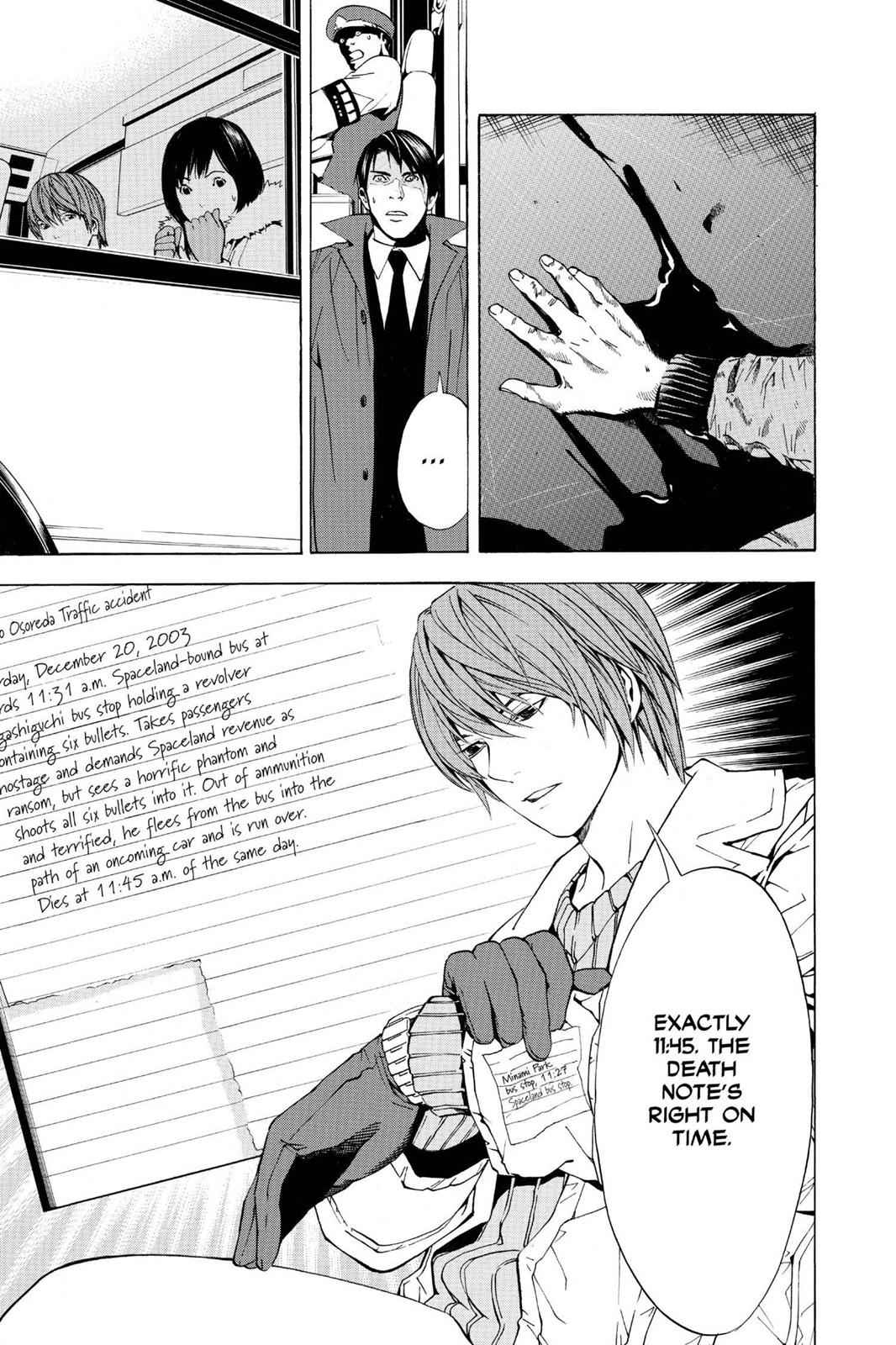 Death Note Chapter 7 Page 19
