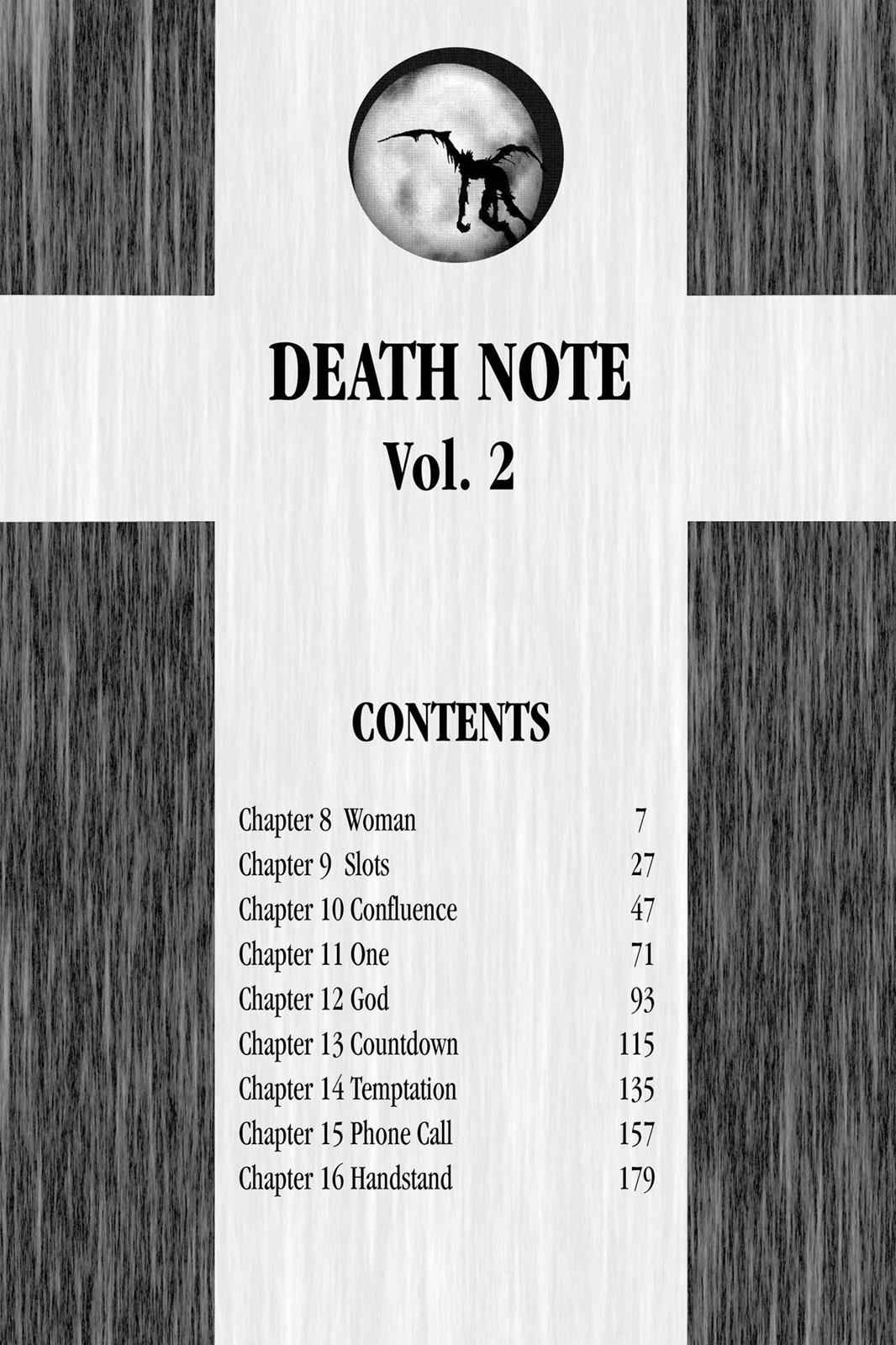 Death Note Chapter 8 Page 7