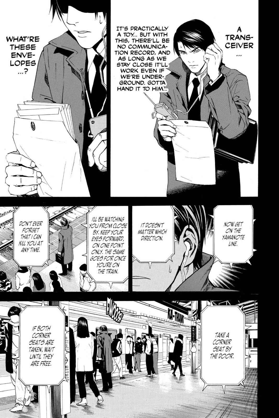 Death Note Chapter 9 Page 11