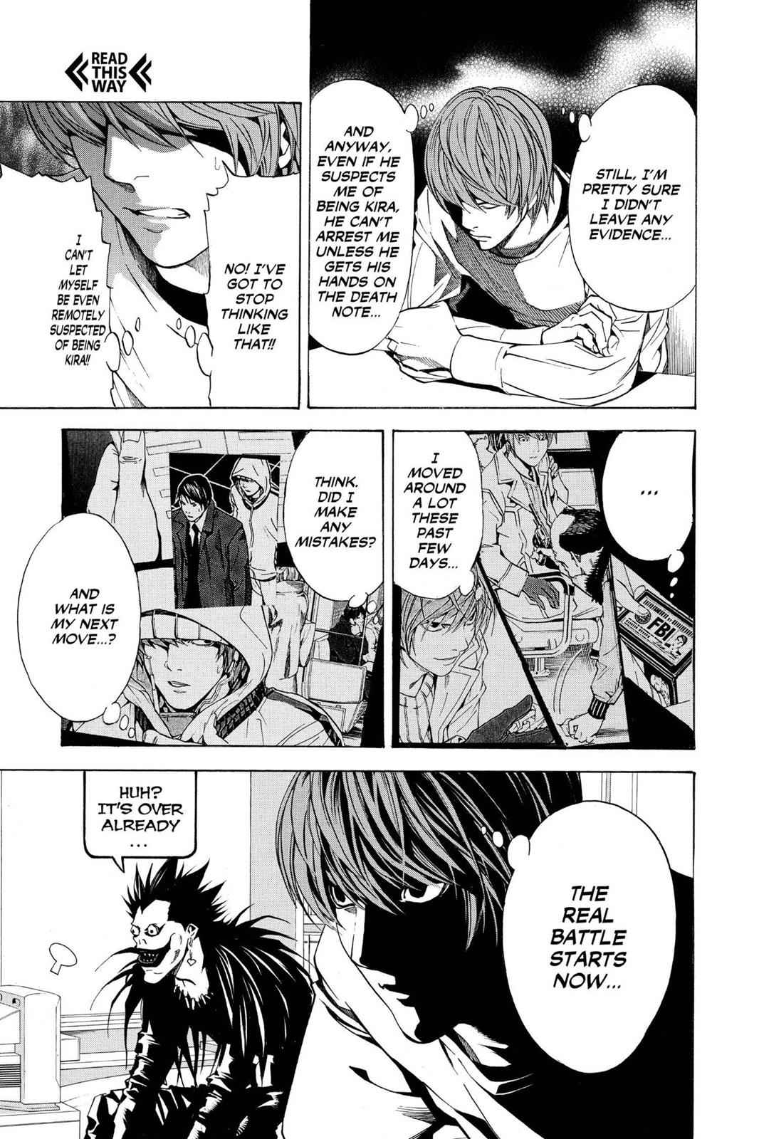 Death Note Chapter 10 Page 21