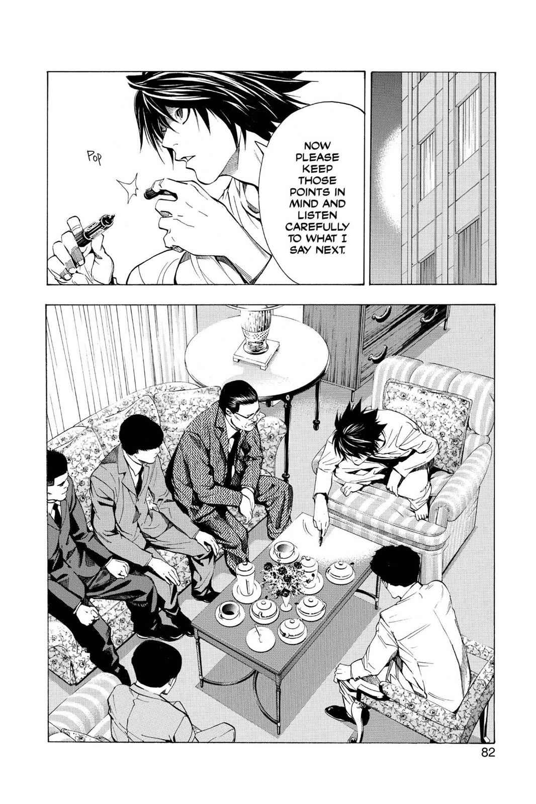 Death Note Chapter 11 Page 12