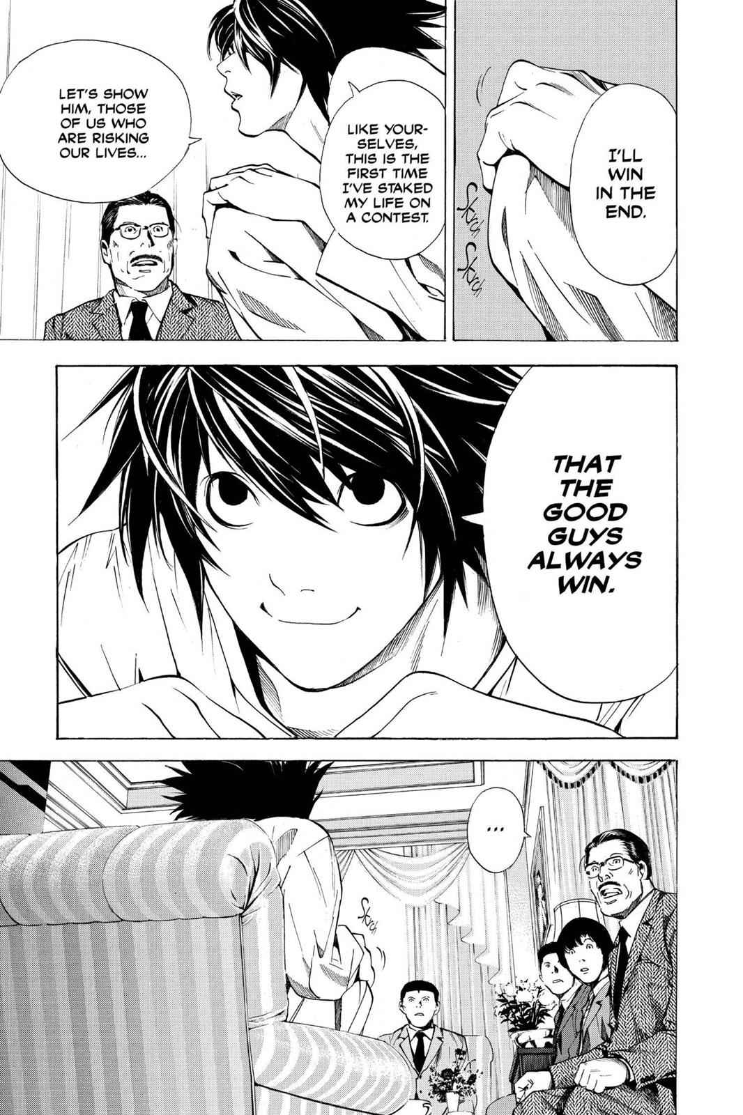 Death Note Chapter 11 Page 17