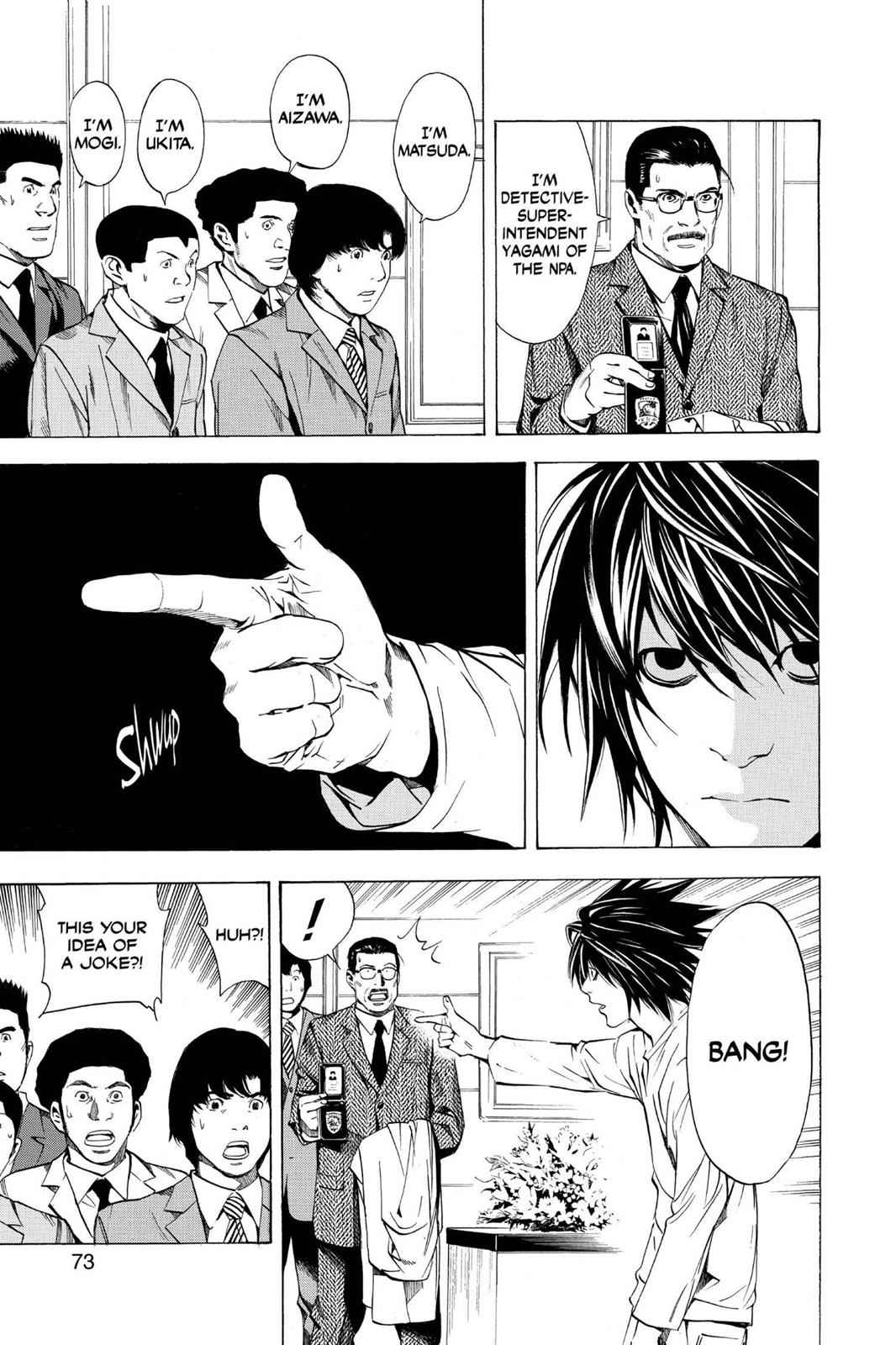 Death Note Chapter 11 Page 3