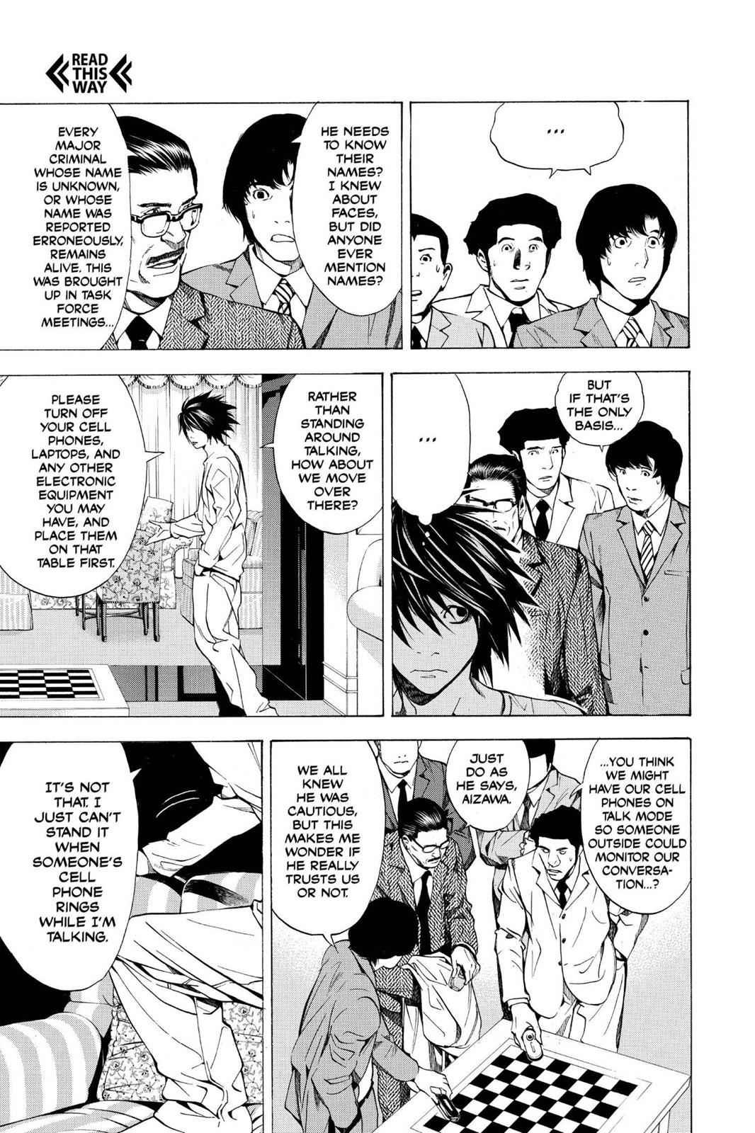 Death Note Chapter 11 Page 5