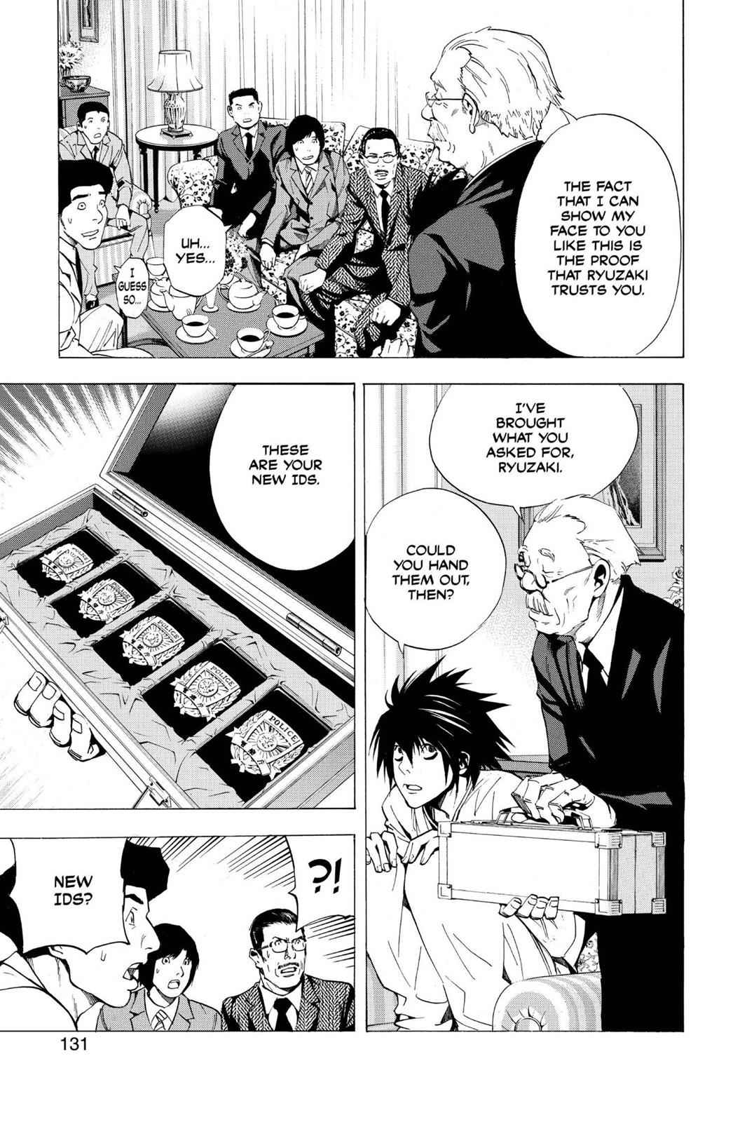 Death Note Chapter 13 Page 17