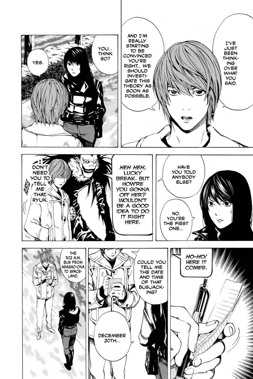 Death Note Chapter 13 Page 4