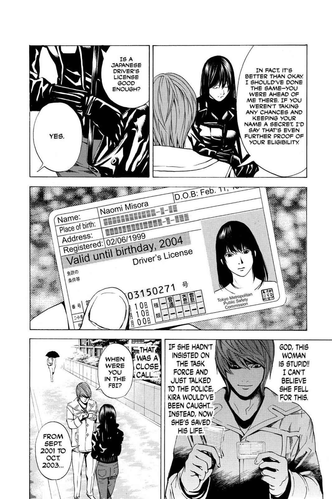 Death Note Chapter 14 Page 16