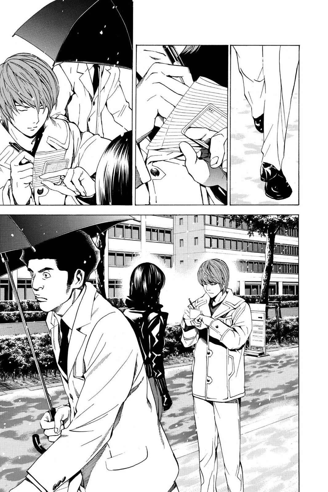 Death Note Chapter 14 Page 17