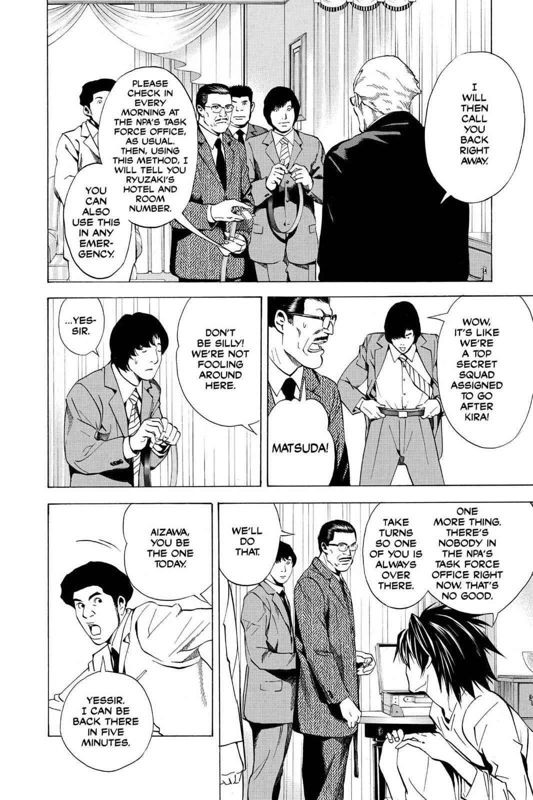 Death Note Chapter 14 Page 4