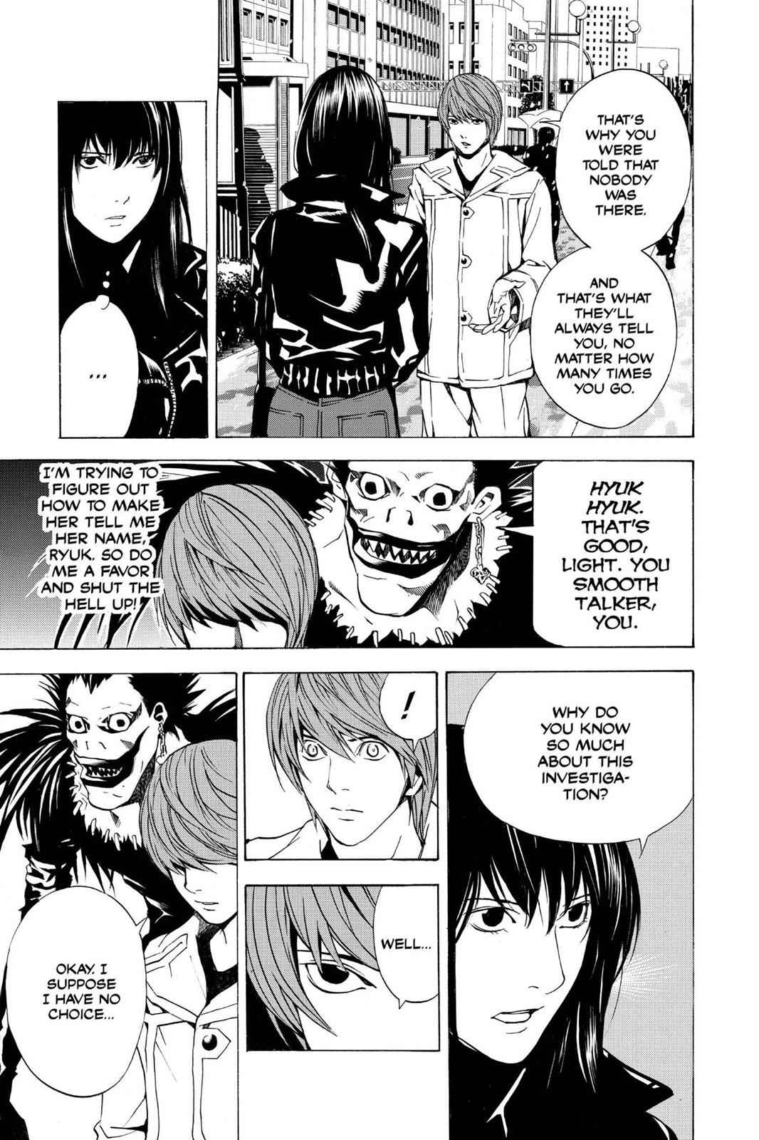 Death Note Chapter 14 Page 7