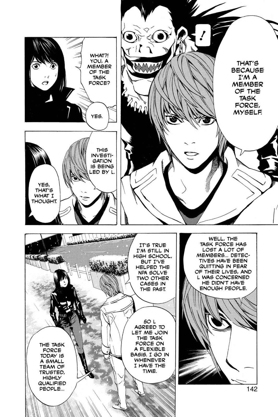 Death Note Chapter 14 Page 8
