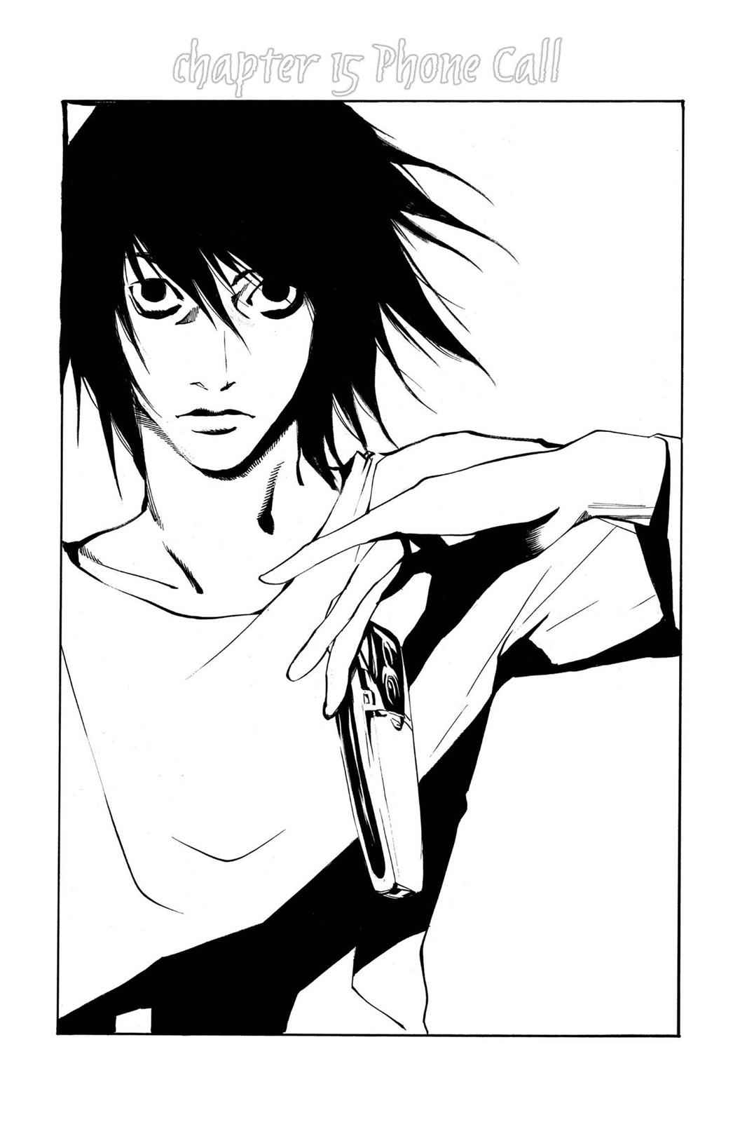 Death Note Chapter 15 Page 1