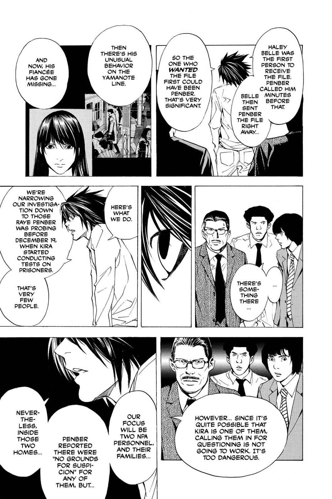 Death Note Chapter 15 Page 19