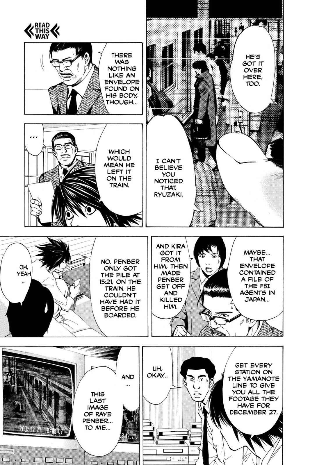Death Note Chapter 15 Page 9