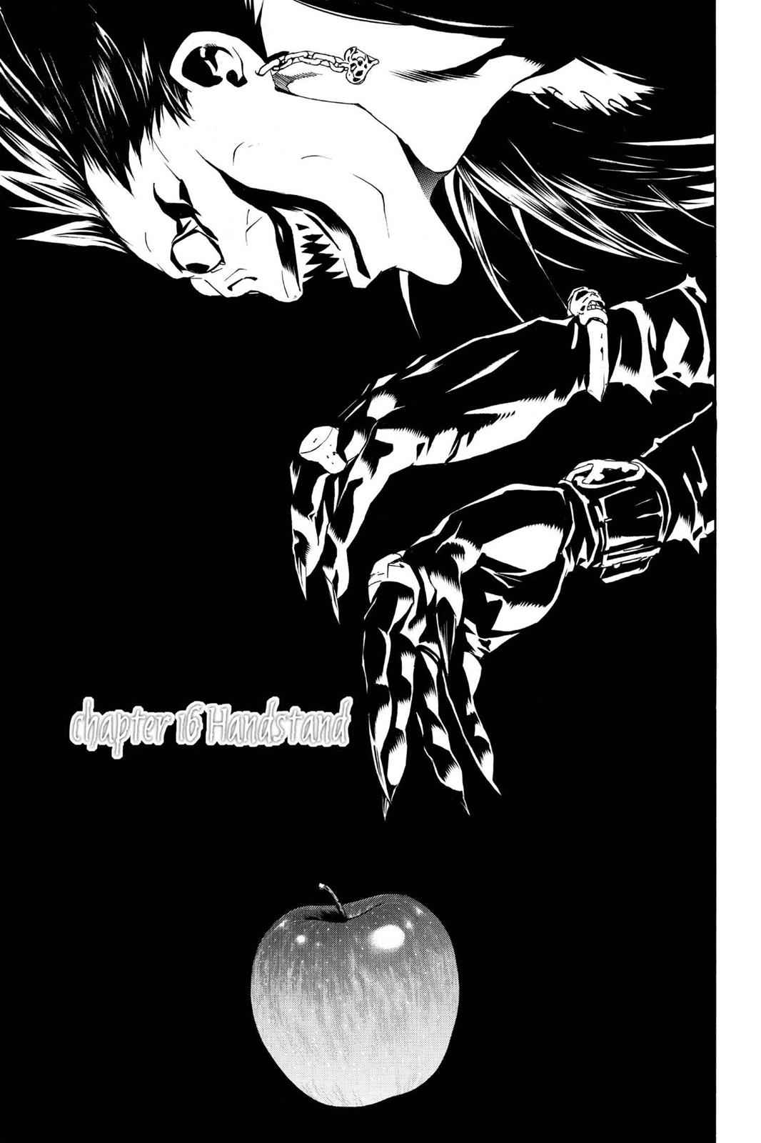 Death Note Chapter 16 Page 1