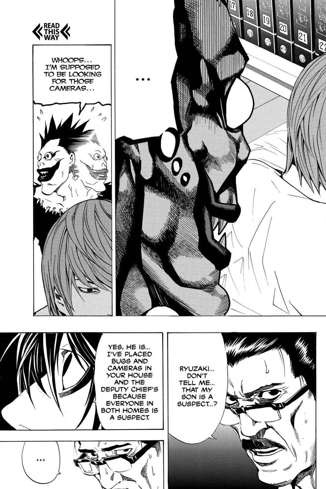 Death Note Chapter 17 Page 10