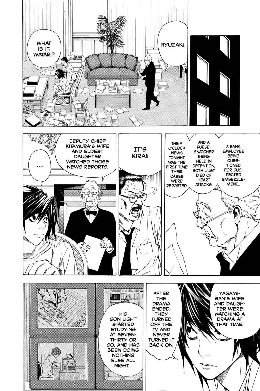 Death Note Chapter 17 Page 23