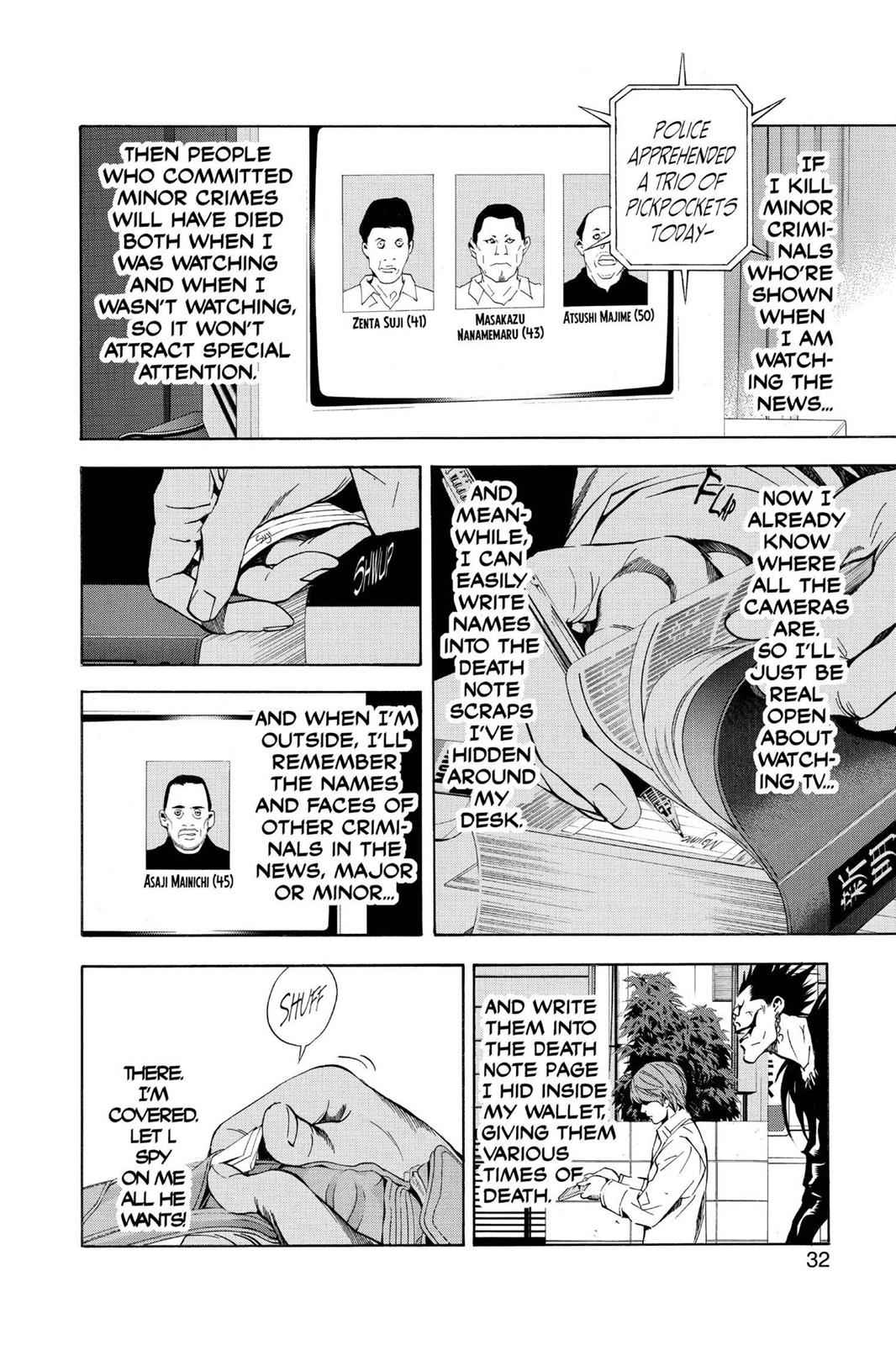 Death Note Chapter 18 Page 6