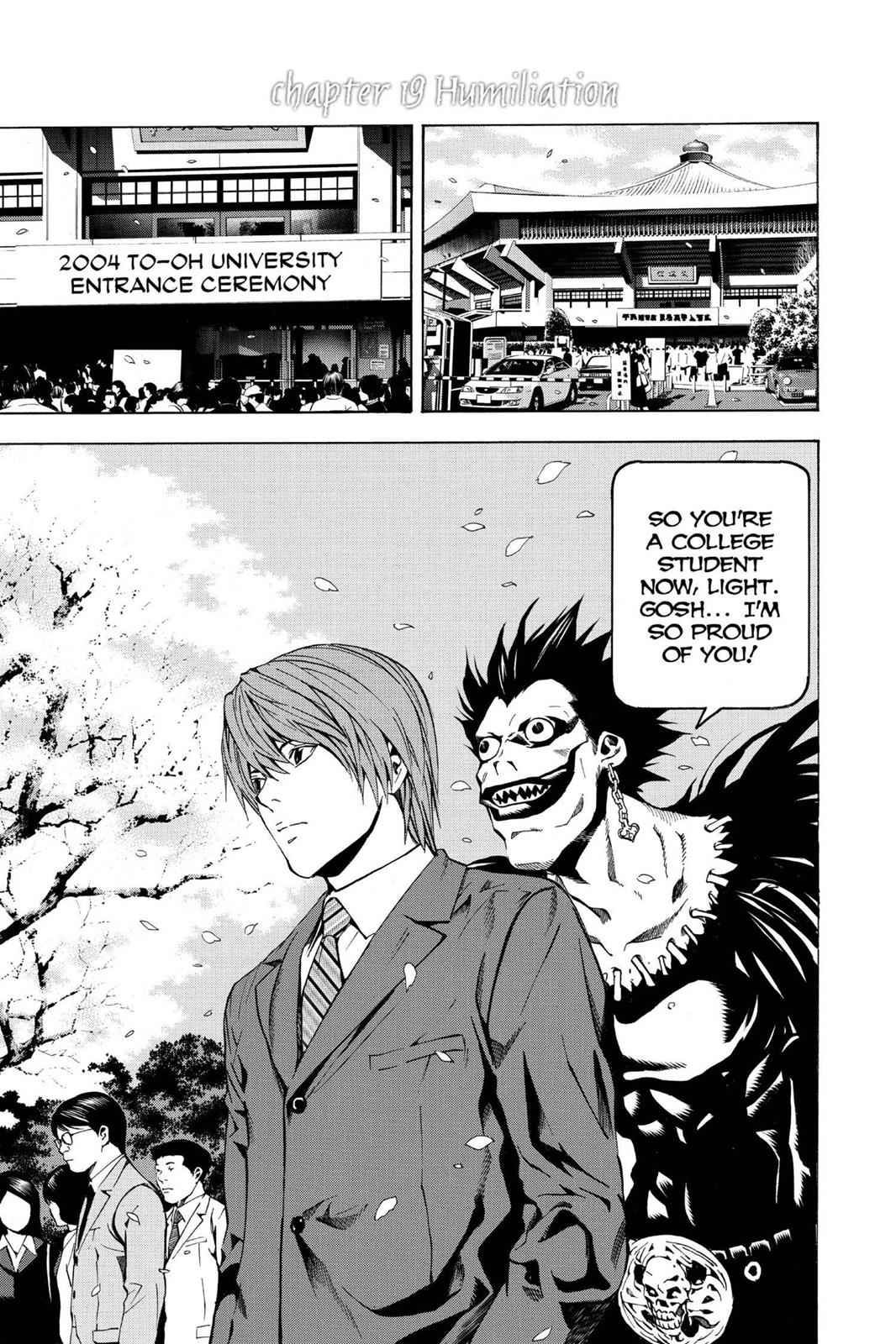 Death Note Chapter 19 Page 1