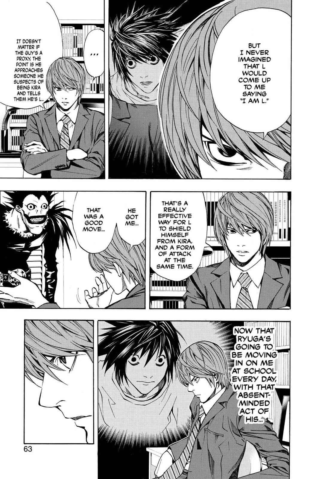 Death Note Chapter 19 Page 17