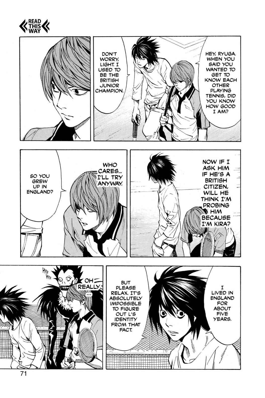 Death Note Chapter 20 Page 5