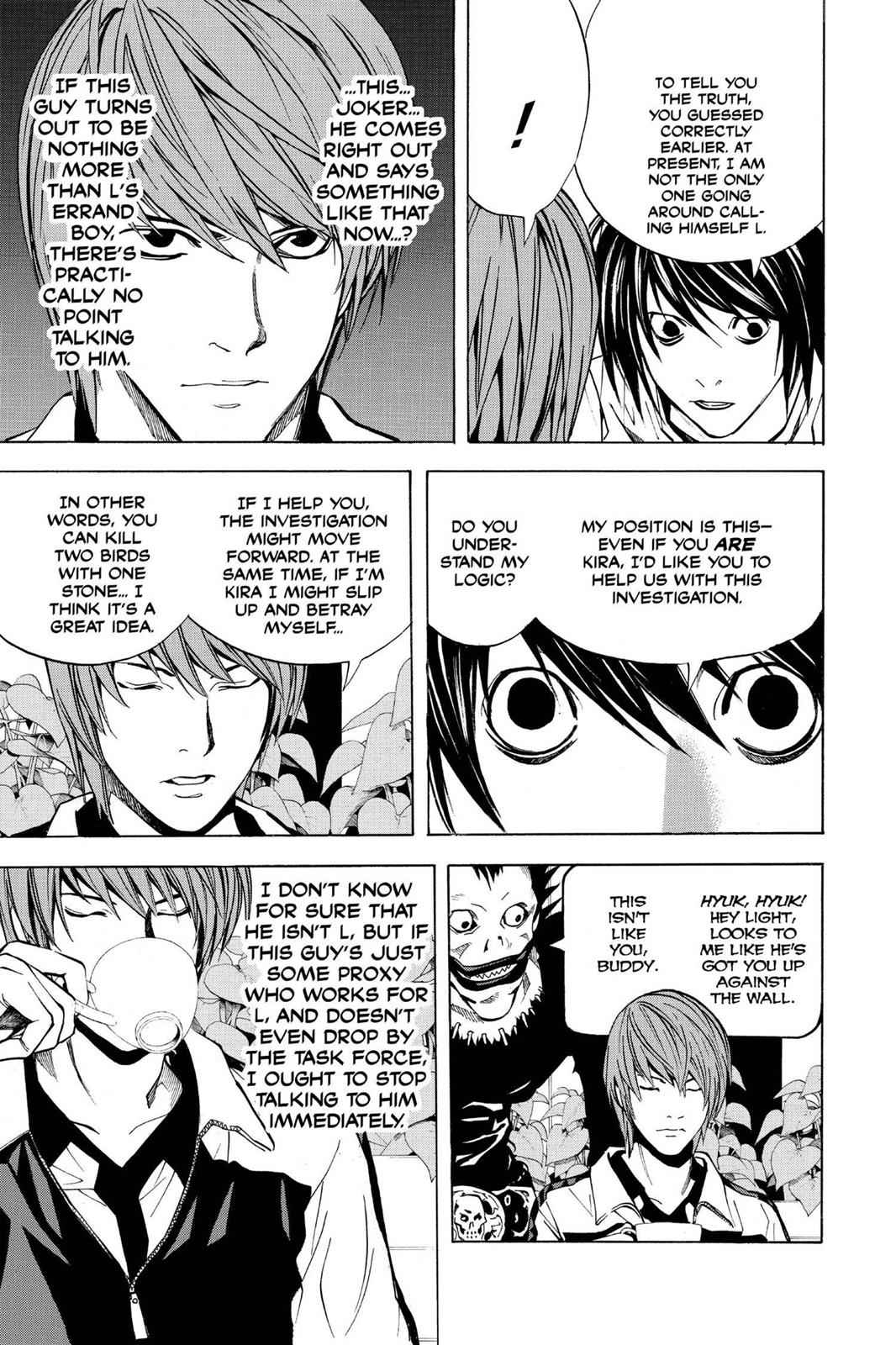 Death Note Chapter 21 Page 19