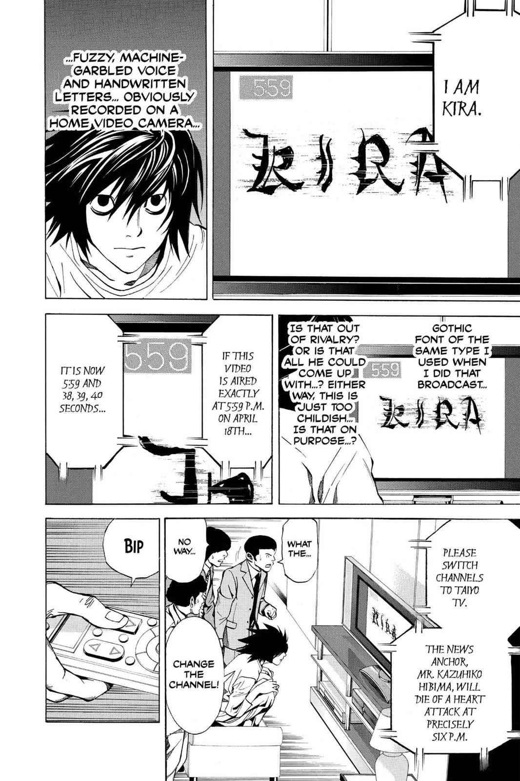 Death Note Chapter 23 Page 6