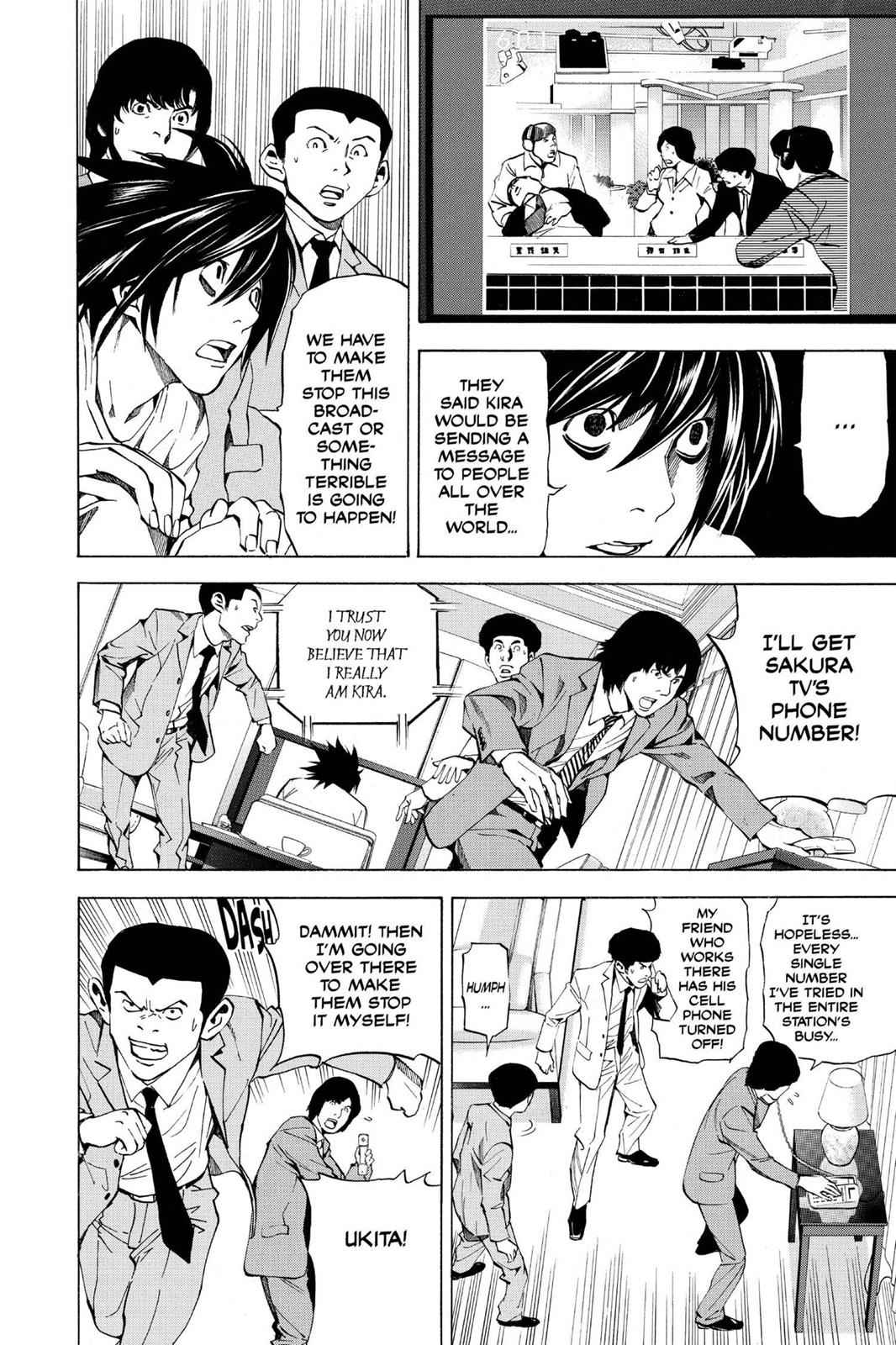 Death Note Chapter 23 Page 8