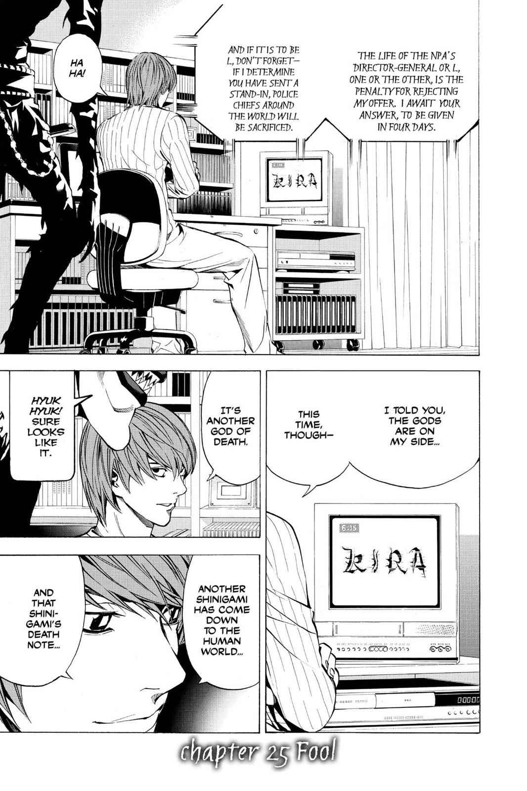 Death Note Chapter 25 Page 1